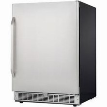 Silhouette Select DAR154BLSST 24in Undercounter All-Refrigerator 5.4 cu. ft. with Glass Shelves