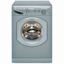 Ariston AW129NA 24in Washer 1200 RPM 16 lbs Capacity, Platinum