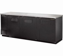 True TBB-4 90in Back Bar Beverage Cooler with 1254 Can Capacity