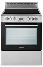 Blomberg BERC24100SS 24in Slide-In Electric Convection Range 2.3 cu.ft. with 8 Functions