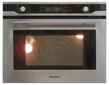 Blomberg BWOS30100 30in Self-Clean True Euro Convection Electric Single Wall Oven 2.8 Cu. Ft. Stainless Steel