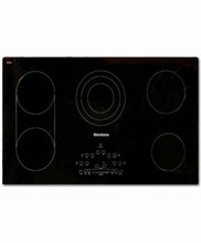 Blomberg CTE36500 36in Smothtop Electric Cooktop, with 5 Burners