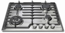 Electrolux EI24GC15KS 24in Gas Cooktop with 4 sealed burners stainless steel