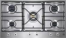 Bertazzoni Professional Series  PM36500X 36in segmented gas cooktop 5 brass burners 750-18,000 btus