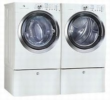 Electrolux Wave-Touch Steam Washer EWFLS70JIW 5.1 Cu. Ft. and Gas Steam Dryer EWMGD70JIW  8.0 Cu. Ft.