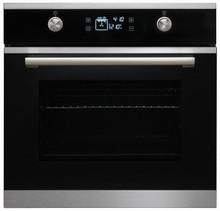 Porter & Charles SOPS60GL 24in Electric Convection Wall Oven 2.25 Cu. Ft. with  8 cooking functions