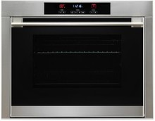 Porter & Charles SOPS60EL 24in anti-finger print stainless steel oven 2.25 Cu. Ft. with 8 cooking functions