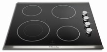 Electrolux IQ-Touch EI24EC15KS 24in Electric Cooktop 4 Cooking Zones and Rotary Controls