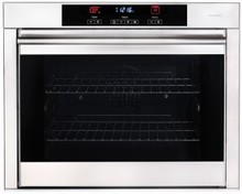 Porter & Charles SOPS76BL 30in anti-finger print stainless steel oven 4.3 cu. ft. with 9 cooking functions