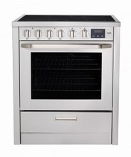 AEG 3007VNM-M 30in slide-in electric convection range 3.8 cu.ft. with 8 cooking functions