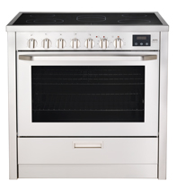 AEG 3009VNM-M 36in slide-in electric range 4.3 cu.ft. with 8 cooking functions