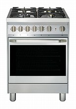 Porter & Charles FEG60B 24in slide-in dual fuel convection range 2.25 cu.ft. with four sealed burners