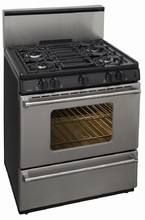 Premier Pro Series P30S3202 Commercial Style 30-in Gas Range with 4 Sealed Burners