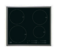 AEG HK654200XB 24in Induction Cooktop with 4 Induction Cooking Zones and Stainless Steel Trim
