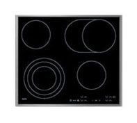 AEG HK654070XB 24in Electric Cooktop 4 burners including 2 expandable