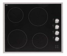 Porter & Charles CCK60 24in Electric Ceramic Cooktop with 4 Hi-Lite burners