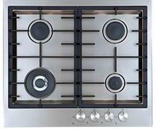 AEG 6524GM-M-F 24in Gas Cooktop 04 sealed burners stunning Ultra Flat design, triple ring wok burner 13,600 BTU