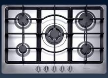 Porter & Charles CG90WOK 36in Gas Cooktop 5 sealed burners and Triple ring wok burner 16,000 BTU