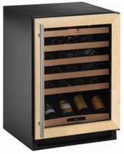U-Line 2175WCCOL-00 Wine Captain 2000 Series 24in Built-in Wine Storage with 48-Bottle Capacity