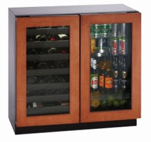 U-Line 3036BVWCOL-00 Beverage Center/ Wine Captain Modular 3000 Series 36in Built-in Beverage Center