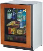 U-Line 3024RGLOL-01 3000 Modular Series 24in Undercounter Glass Door Refrigerator 4.9 cu. ft.