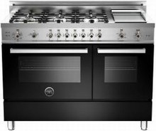 Bertazzoni Professional series PRO486GGASNE 48in Pro-Style Gas Range 6 Sealed Brass Burners