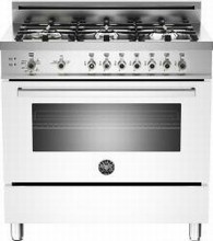 Bertazzoni Professional series PRO366GASBI 36in Pro-Style Gas Range 6 Sealed Brass Burners