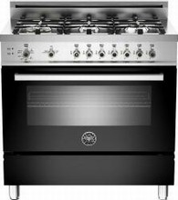 Bertazzoni Professional series PRO366GASNE 36in Pro-Style Gas Range 6 Sealed Brass Burners