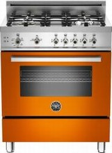 Bertazzoni Professional series PRO304GASAR 30in Pro-style Gas Range 4 Sealed Brass Burners