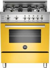 Bertazzoni Professional series PRO304GASGI 30in Pro-Style Gas Range 4 Sealed Brass Burners