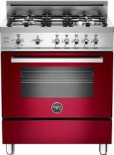 Bertazzoni Professional series PRO304GASVI 30in Pro-Style Gas Range 4 Sealed Brass Burners