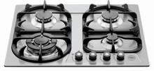 Bertazzoni Professional Series V24400X 24in gas cooktop 4 sealed al burners 750-13,000 btus