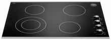 Bertazzoni Design Series P304CERNE 30in Electric Cooktop with 4 Radiant Element and Black Ceramic Top