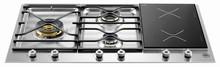 Bertazzoni Professional Series PM363I0X 36in Segmented Cooktop 3 brass burners 750-18,000 btus