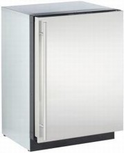 U-Line 3024RF-00 Modular 3000 Series 24in Undercounter Refrigerator 4.8 cu. ft. with 3 Slide-Out Removable Door Bins
