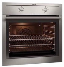 AEG BC3000001M  24in built-in stainless steel wall-oven  2.61 cu. ft. with 08 functions