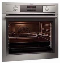 Aeg BP5023001M 24in built-in Self-clean anti-finger print wall-oven 2.61 cu.ft.