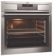 Aeg BP7304001M 24in built-in  Self-clean anti-finger print stainless steel oven 2.61 cu.ft.