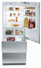 Liebherr HCB1560 30in Energy Star Fully Integrated Bottom-Freezer Refrigerator 14.1 cu.ft. with Ice Maker