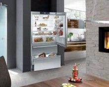 Liebherr HC2060 36in Energy Star Fully Integrated French Door Refrigerator 19.5 cu.ft.