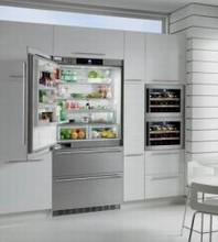 Liebherr HC2061 36in Energy Star Fully Integrated French Door Refrigerator 19.5 cu.ft.