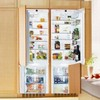 Liebherr SBS20H1 48in Built-In Energy Star Fully Integrated Side-By-Side Refrigerator Freezer 19 cu. ft.