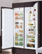 Liebherr SBS19H1 48in Built-In Energy Star Fully Integrated Side-By-Side All Refrigerator All Freezer 18.5 cu. ft.
