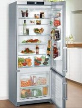 Liebherr CS1640 30in Energy Star Counter-Depth Bottom-Freezer Refrigerator 15.2 cu.ft. with Ice Maker