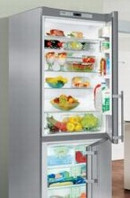 Liebherr CS1660 30in Energy Star Counter-Depth Bottom-Freezer Refrigerator 15.5 cu.ft. with Ice Maker