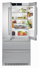 Liebherr CS2062 36in Energy Star French Door Refrigerator 19.4 cu.ft. with two compressors and Ice Maker