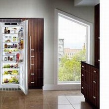 Liebherr R1410 24in Energy Star Built-in All-Refrigerator 13.7 cu. ft. with Beverage Rack