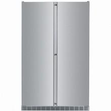 Liebherr SBS243 48in Energy Star Builti-In Side-By-Side stainless steel all fridge all freezer 22.2 cu. ft.