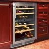 Liebherr WU4000 24in Built-in Wine Storage Cabinet Dual Temperature Zones 40 Bottles Capacity