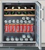 Liebherr RU500 24in built-in under counter beverage centre 29 Bottles and 98 can capacity